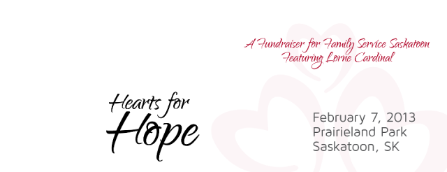Lorne Cardinal Guest Speaker for Hearts For Hope Saskatoon