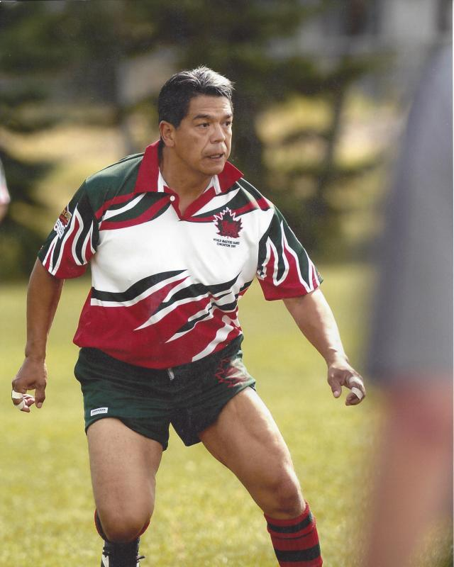 Lorne Cardinal 2005 World Masters Rugby