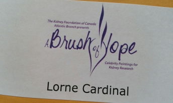 A Brush of Hope - Lorne Cardinal